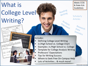 What is College Level Writing?