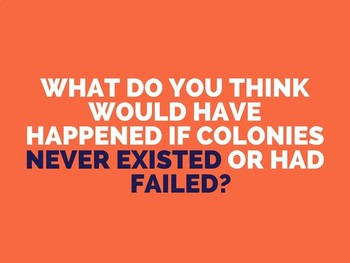 What is Colonization? PowerPoint