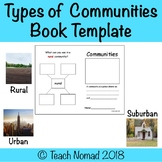 Types of Communities Book Template