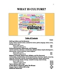 What is Culture?  Resources for Teaching World History or