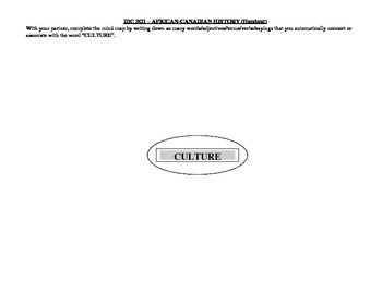 What is Culture handout