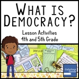 What is Democracy?  Government Lesson Activities
