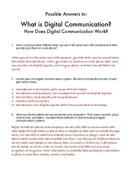 What is Digital Communication? How Does Digital Communication Work?