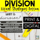 What is Division? Instructional Flip Book