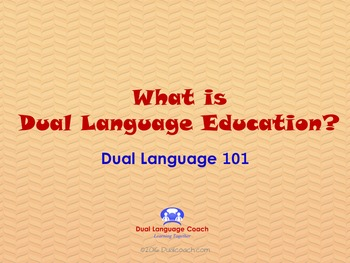 What is Dual Language? Presentation