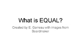 What is EQUAL Lesson