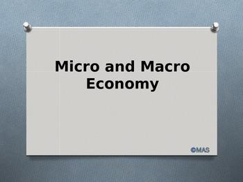 Economy - Micro and Macro Economics