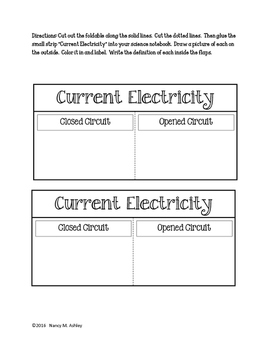 What is Electricity? INB Mini Packet