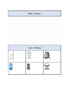 FREE! Energy guided note taking for ELLs & SWDs (scaffolds ...