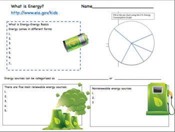 What is Energy? Introduction to Energy Web Research and Notes Page