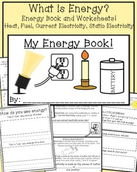 What is Energy? My Energy Book and Worksheets