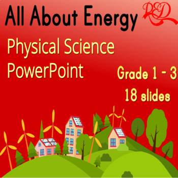 What is Energy? Interactive whiteboard Powerpoint lesson Physical Science