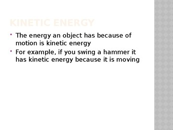 What is Energy Power Point