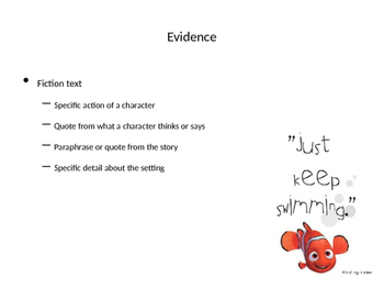 What is Evidence Posters/ PowerPoint