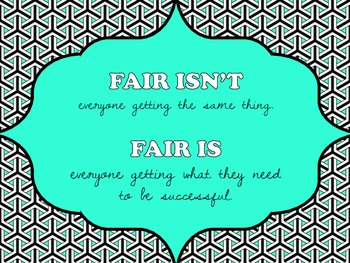 What is Fair Poster