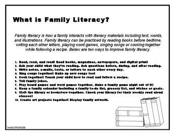 What is Family Literacy