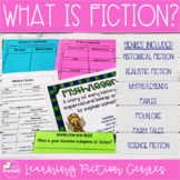 What is Fiction? (Reading Lesson and Genre Posters)