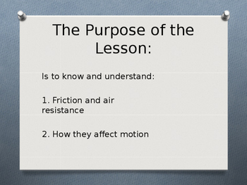 What is Friction? Powerpoint