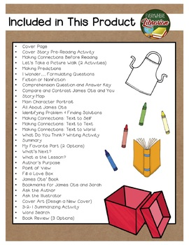 What is Given from the Heart by McKissack 36 Book Extension Activities NO PREP
