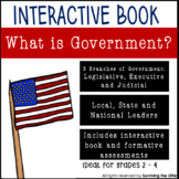 What is Government?  Interactive Book