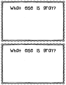 What is Gray?  reader