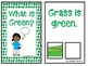 """""""What is Green?"""" An Adapted Interactive Book for Emergent Readers"""