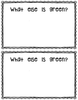 What is Green? reader
