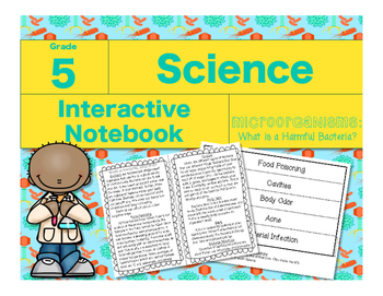 Microorganisms Interactive Notebook-What is Harmful Bacteria?