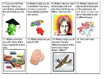 Why Study History Cards - Pack of 14