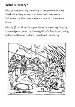 What is History Handout