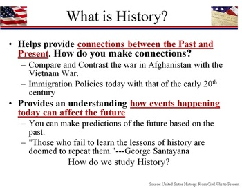 """""""What is History?"""" PowerPoint"""