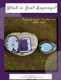 Lent Memory Game Mni-Lesson: What is Lent Anyways?