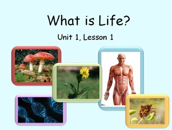 What is Life PowerPoint Presentation and Guided Notes