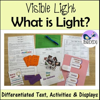 What is Light? Information Texts. Differentiated. PACKET