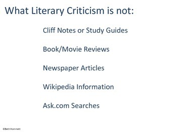 What is Literary Criticism?
