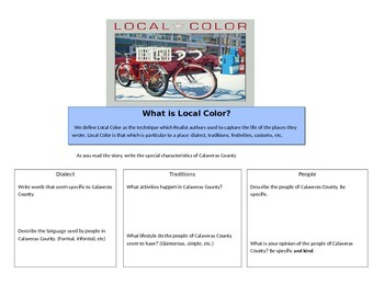 What is Local Color?