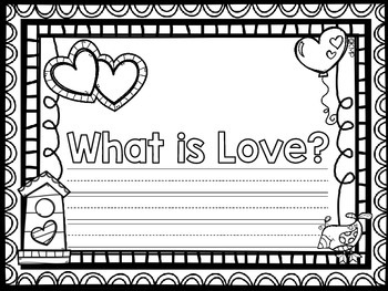 What is Love? Class Book {Freebie}