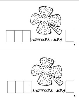 """What is Lucky on Saint Patrick's Day?"" Sight Word Reader Book with punctuation"