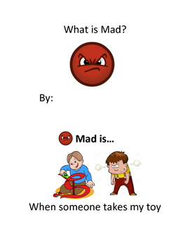 What is Mad? Learning Emotions Emergent Reader