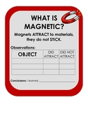 What is Magnetic?  Scientific Method Magnet Inquiry Experiment