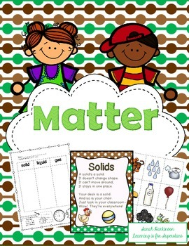 What is Matter? Unit