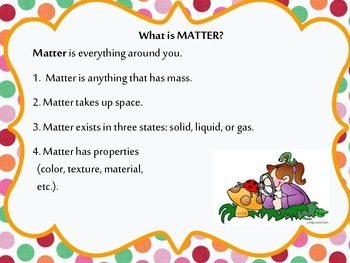 What is Matter? poster