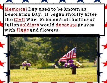 What is Memorial Day? A Simple PowerPoint Mini Lesson