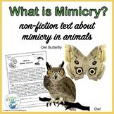 Mimicry Nonfiction Text