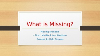 What is Missing??