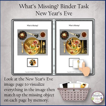 What is Missing? Binder Task-New Year's Eve