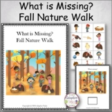 What is Missing? Fall Nature Walk