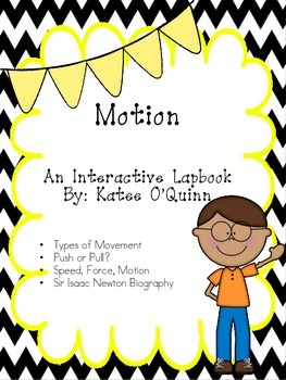 What is Motion? A Primary Lapbook