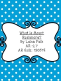 What is Mt. Rushmore? by Laine Falk