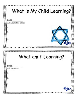 What is My Child Learning